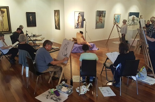 Life Drawing studio in gallery 7 x 5.jpg